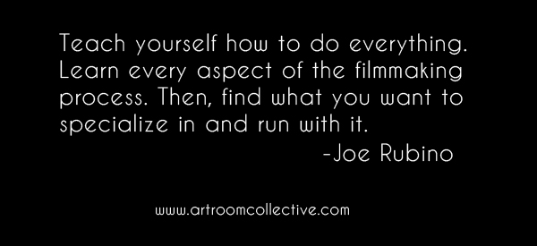 Learn every aspect of the filmmaking process